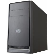 Gabinete Gamer Cooler Master Masterbox E300L, Mini Tower, Com 1 Fan, Black, S-Fonte, MCB-E300L-KN5N-B02-Silver