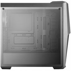 Gabinete Gamer Cooler Master MasterBox MB500, Mid Tower, Com 3 Fans RGB, Vidro Temperado, Black, S-Fonte, MCB-B500D-KGNN-S00