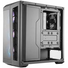 Gabinete Gamer Cooler Master MasterBox MB530P, Mid Tower, Com 4 Fans, Vidro Temperado, Black, S-Fonte, MCB-B530P-KHNN-S01