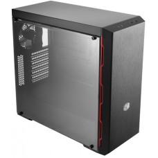 Gabinete Gamer Cooler Master Masterbox MB600L, Mid Tower, Lateral em Acrílico, Black, Sem Fonte, Com 1 Fan, MCB-B600L-KANN-S00