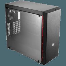 Gabinete Gamer Cooler Master Masterbox MB600L, Mid Tower, Com 1 Fan, Lateral em Acrílico, Black, S-Fonte, MCB-B600L-KANN-S02