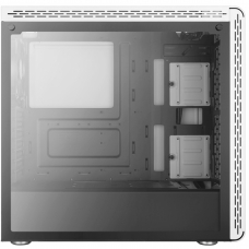 Gabinete Gamer Cooler Master MasterBox MS600, Mid Tower, Com 1 Fan, Vidro Temperado, White, S-Fonte, MCB-MS600-WGNN-S00