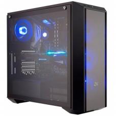 Gabinete Gamer Cooler Master MasterBox Pro 5 RGB, Mid Tower, Com 4 Fans, Vidro Temperado, Black, S-Fonte, MCY-B5P2-KWGN-01