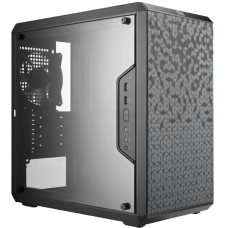 Gabinete Gamer Cooler Master Masterbox Q300L, Mini Tower, Com 1 Fan, Black, S-Fonte, MCB-Q300L-KANN-S00