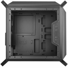 Gabinete Gamer Cooler Master Masterbox Q300P, Mid Tower, Com 3 Fans, Lateral em Acrílico, Black, S-Fonte, MCB-Q300P-KANN-S02