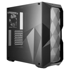 Gabinete Gamer Cooler Master Masterbox TD500L, Mid Tower, Com 1 Fan, Lateral em Acrílico, Black, S-Fonte, MCB-D500L-KANN-S00