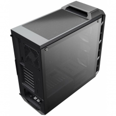 Gabinete Gamer Cooler Master Mastercase H500 RGB, Mid Tower, Com 3 Fans, Black, S-Fonte, MCM-H500-IGNN-S00