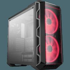 Gabinete Gamer Cooler Master Mastercase H500 RGB, Mid Tower, Com 3 Fans, Black, Sem Fonte, MCM-H500-IGNN-S00