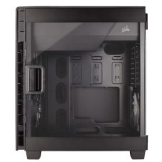 Gabinete Gamer Corsair Carbide Clear 600C Inverse, Full Tower, Com 3 Fans, Lateral em Acrílico, S-Fonte, CC-9011079-WW