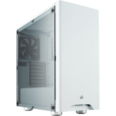 Gabinete Gamer Corsair Carbide 275R, Mid Tower, Com 2 Fans, Lateral de Acrílico, White, S-Fonte CC-9011131-WW