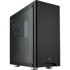Gabinete Gamer Corsair Carbide 275R, Mid Tower, Com 2 Fans, Vidro Temperado, Black, S-Fonte, CC-9011132-WW