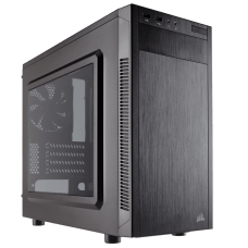 Gabinete Gamer Corsair, Carbide 88R, Mid Tower, Acrílico, Black, Sem Fonte, Com 1 Fan