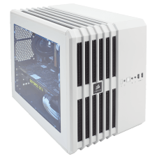 Gabinete Gamer Corsair Carbide Air 240, Mid Tower, Com 3 Fans, Lateral em Acrílico, White, S-Fonte, CC-9011069-WW