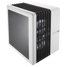 Gabinete Gamer Corsair, Carbide Air 540, Mid Tower, Acrílico, Arctic White, S/Fonte, C/3 Fans