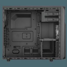 Gabinete Gamer Corsair Carbide SPEC-02 Led Red, Mid Tower, Com 2 Fans, Lateral em Acrílico, Black, S-Fonte, CC-9011051-WW