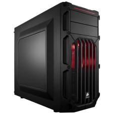 Gabinete Gamer Corsair Carbide SPEC-03, Mid Tower, Com 2 Fans, Lateral em Acrílico, Black, S-Fonte, CC-9011052-WW