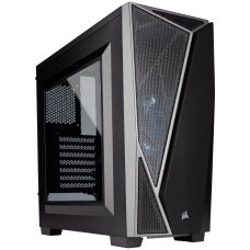 Gabinete Gamer Corsair Carbide SPEC-04 Mid Tower, Com 1 Fan, Lateral em Acrílico, Black-Grey, S-Fonte, CC-9011109-WW