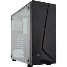 Gabinete Gamer Corsair, Carbide SPEC-05, Mid Tower, Acrílico, Black, S/Fonte, C/1 Fan
