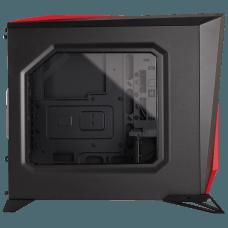 Gabinete Gamer Corsair Carbide Spec Alpha, Mid Tower, Com 3 Fans, Lateral em Acrílico, Black-Red, S-Fonte, CC-9011085-WW
