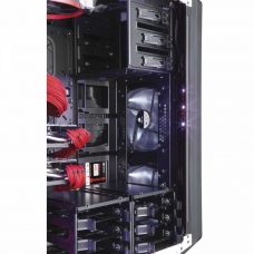 Gabinete Gamer Corsair Graphite 760T, Full Tower, Com 3 Fans, Lateral em Acrílico, Black, S-Fonte, CC-9011073-WW