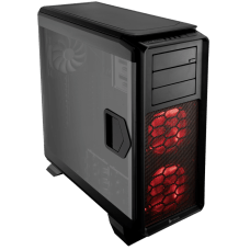 Gabinete Gamer Corsair, Graphite 760T, Full Tower, Acrílico, Black, Sem Fonte, Com 3 Fans, CC-9011073-WW