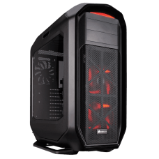Gabinete Gamer Corsair, Graphite 780T, Full Tower, Acrílico, Black, S/Fonte, C/3 Fans