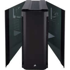 Gabinete Gamer Corsair Obsidian 500D, Mid Tower, Com 2 Fans, Vidro Temperado, Black, S-Fonte, CC-9011116-WW
