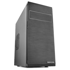 Gabinete Gamer DeepCool Frame, Mid Tower, Black, S-Fonte, DP-MATX-DPFRAME