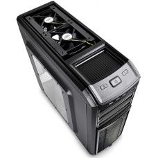 Gabinete Gamer DeepCool Kendomen Titanium, Mid-Tower, Com 5 Fans, Black, S-Fonte, DP-CCATX-KDM5FBKTI