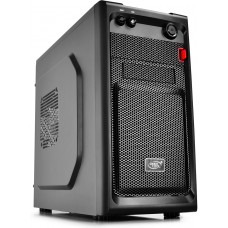Gabinete Gamer DeepCool Smarter M, Mini Tower, Black, Sem Fonte, DP-MATX-SMTR