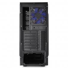 Gabinete Gamer DeepCool Tesseract BF, Mid Tower, Com 1 Fan, Black, S-Fonte, DP-CCATX-TSRBFBK