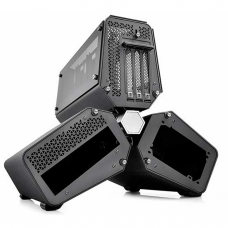 Gabinete DeepCool Tristellar Vidro Temperado  DP-ITX-TST-TW Preto
