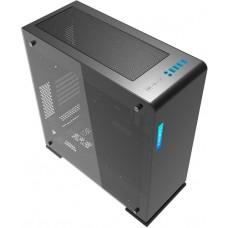 Gabinete Gamer Gamemax Vega M909 RGB, Vidro temperado, Full Tower, Com 1 Fan, Black, S-Fonte, GMX-VEGA-B