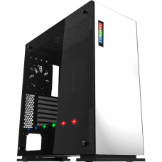 Gabinete Gamer Gamemax Vega M909 RGB, ​​​​​​​Full Tower, White, GGM, Sem Fonte, Com 1 Fan, GMX-VEGA-W