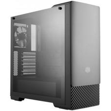 Gabinete Gamer Cooler Master Masterbox E500, Mid Tower, Com ODD, Black, MCB-E500-KG5N-S00, S/Fonte, C/1 Fan