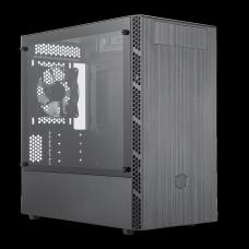 Gabinete Gamer Cooler Master Masterbox MB400L, Mid Tower, Black, MCB-B400L-KG5N-S00, Com ODD, Sem Fonte, Com 1 Fan