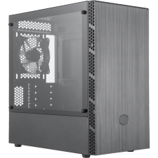 Gabinete Gamer Cooler Master Masterbox MB400L, Mini Tower, Black, Sem Fonte, Com 1 Fan, MCB-B400L-KGNN-S00
