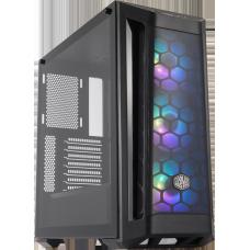 Gabinete Gamer Cooler Master Masterbox MB511, ARGB, Mid Tower, Black, MCB-B511D-KGNN-RGA, S/Fonte, C/3 Fans