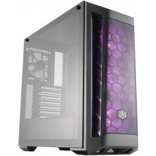 Gabinete Gamer Cooler Master Masterbox MB511 RGB, Mid Tower, Black, Sem Fonte, Com 4 Fans, MCB-B511D-KGNN-RGB