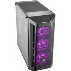 Gabinete Gamer Cooler Master Masterbox MB511 RGB, Mid Tower, Com 4 Fan, Black, S-Fonte, MCB-B511D-KGNN-RGB