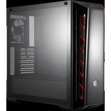 Gabinete Gamer Cooler Master Masterbox MB520 TG, Mid Tower, Vidro Temperado, Com 1 Fan, Black, S-Fonte, MCB-B520-KGNN-S00