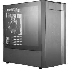 Gabinete Gamer Cooler Master MasterBox NR400, Mini Tower, Com 2 Fan, Black, S-Fonte, MCB-NR400-KG5N-S00