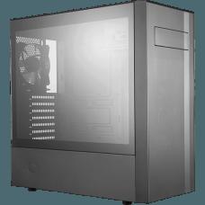 Gabinete Gamer Cooler Master MasterBox NR600, Mid Tower, Com 2 Fan, Black, S-Fonte, MCB-NR600-KG5N-S00
