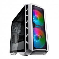 Gabinete Gamer Cooler Master MasterCase H500P Mesh ARGB, Mid Tower, Vidro Temperado, White, Sem Fonte, Com 3 Fans