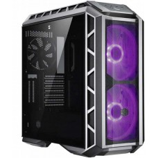 Gabinete Gamer Cooler Master MasterCase H500P Mesh, Mid Tower, Com 3 Fans, Vidro Temperado, Gun Metal, S-Fonte, MCM-H500P-MGNN-S10