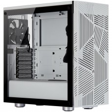 Gabinete Gamer Corsair Carbide 275R Airflow, Mid Tower, Com 3 Fans, Vidro Temperado, White, Sem Fonte CC-9011182-WW