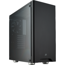 Gabinete Gamer Corsair Carbide 275R, Mid Tower, Com 2 Fans, Lateral de Acrílico, Black, S-Fonte CC-9011130-WW - Open Box
