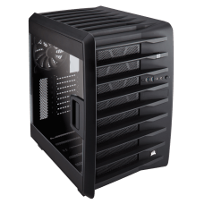 Gabinete Gamer Corsair Carbide Air 740, Mid Tower, Com 3 Fans, Lateral em Acrílico, Black, S-Fonte, CC-9011096-WW
