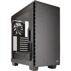 Gabinete Gamer Corsair Carbide Clear 400C, Mid Tower, Com 2 Fans, Lateral em Acrílico, Black S-Fonte, CC-9011081-WW