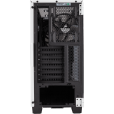 Gabinete Gamer Corsair Carbide Clear 400C, Mid Tower, Com 2 Fans, Lateral em Acrílico, White, S-Fonte, CC-9011095-WW